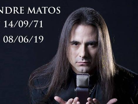 Morre André matos ex-vocalista do Angra, aos 47 anos