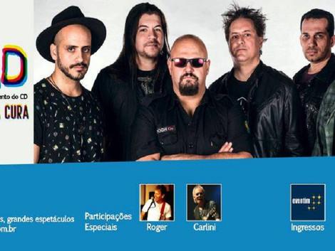 Show de lançamento do CD da banda PAD no Teatro J. Safra