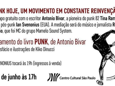 Lançamento do livro 'Punk' de Antonio Bivar no CCSP