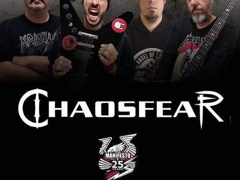 Chaosfear: Live show de lançamento de novo álbum no Manifesto Bar