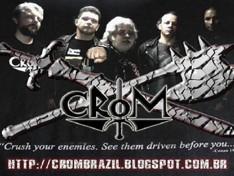 Retorno de Cezar Heavy na formação clássica da banda Crom