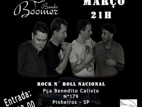 Show da banda Boomer em Pinheiros