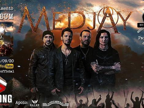 Medjay fará live de pré lançamento do novo álbum