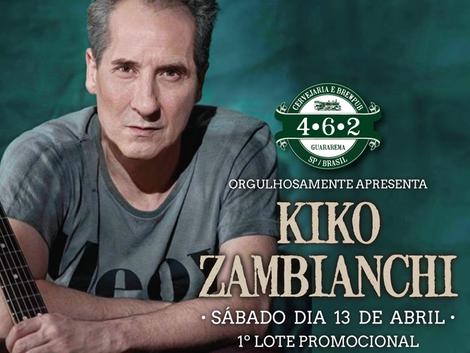 Show de Kiko Zambianchi em Guararema
