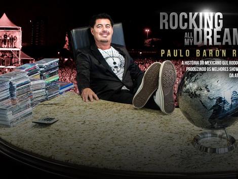 Paulo Baron: 'Rocking All My Dreams' no topo da lista de mais vendidos da editora Inverso