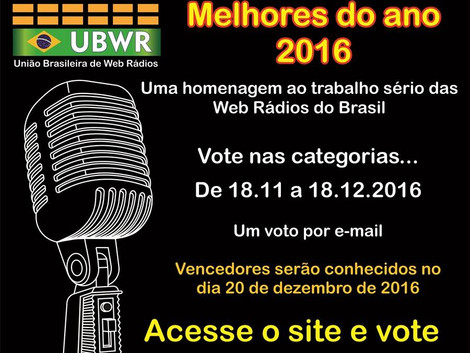 Premiação UBWR 2016 !!!!