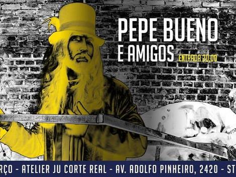 Atelier Ju Corte Real recebe show de Pepe Bueno & Amigos