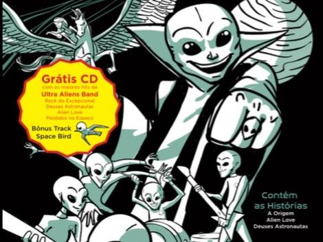 Banda Ultra Aliens lança própria HQ