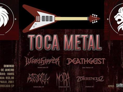 Festival Toca Metal agita Sorocaba