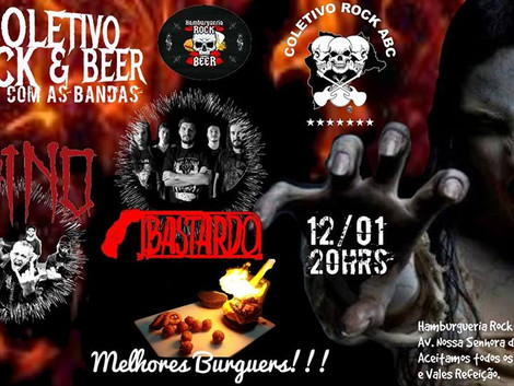 Noite do Metal da Hamburgueria Rock & Beer