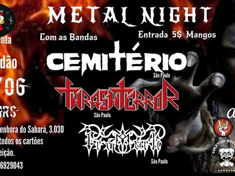 Metal Night na Hamburgueria Rock & Beer