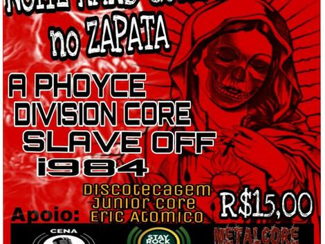 Noite Hardcore no Zapata