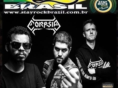 Programa Distrito Brasil entrevista a banda Corpsia