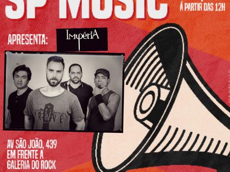 IMPÉRIA faz show na Galeria do Rock, em São Paulo