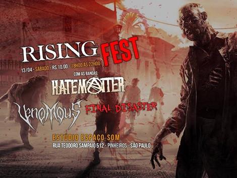 Rising Fest no Espaço Som