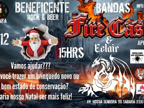 Hamburgueria Rock & Beer organiza evento beneficente