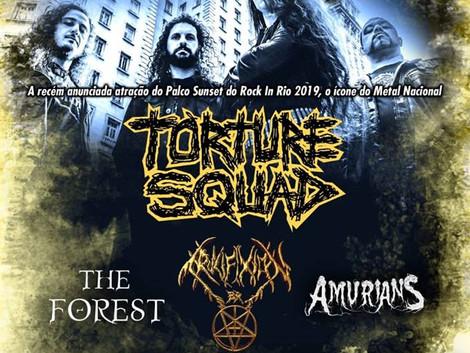 Torture Squad no Sons do Fone Mês da Mulher em SBC