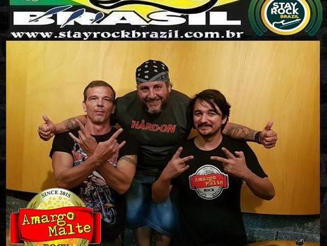 Programa Distrito Brasil entrevista a banda Amargo Malte
