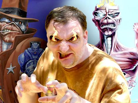 Derek Riggs, criador de famosas capas do Iron Maiden, é confirmado para a Horror Expo 2019