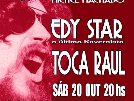 Edy Star canta Raul Seixas na Casa de Cultura Hip Hop Leste