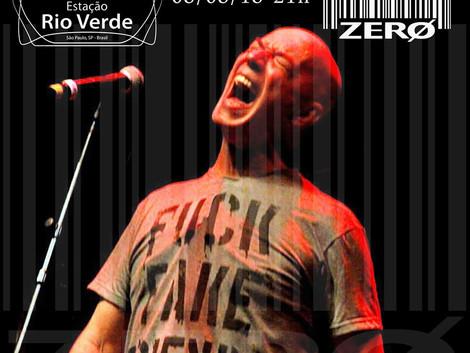 Show da banda ZERØ em São Paulo