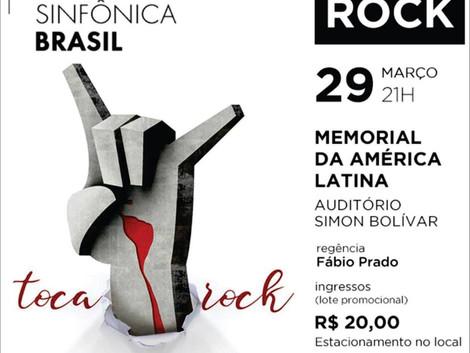 Jazz Sinfônica Brasil no Memorial da América Latina: agora é Rock!