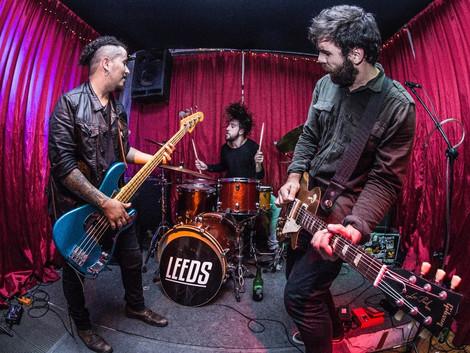Leeds anuncia lançamento do 3º disco, Tormenta
