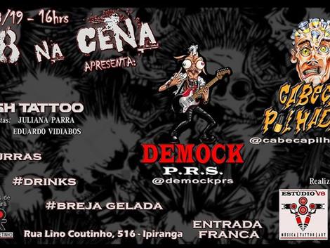 V8 na Cena! com Demock e Cabeça Pilhada