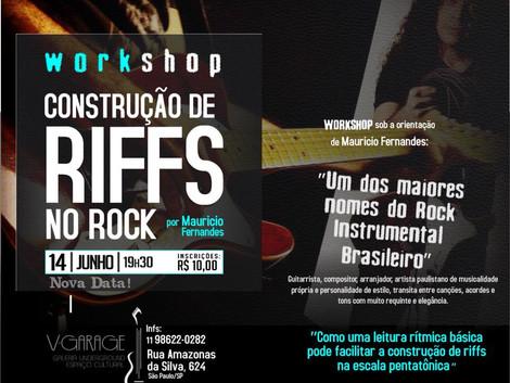 Workshop com o guitarrista Mauricio Fernandes no V. Garage