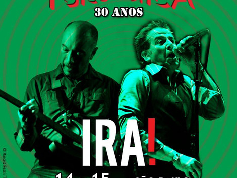 Sesc Belenzinho recebe shows da banda Ira!