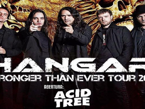 Acid Tree abrirá show da banda Hangar no Manifesto