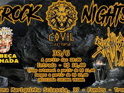 Rock Nights no Covil Gastropub