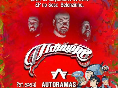 Sesc Belenzinho recebe show da banda Marrero