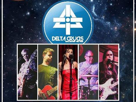 Estreia oficial da banda Delta Crucis no Santa Sede Rock Bar