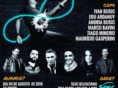 Sesc Belenzinho recebe show em tributo a Wander Taffo