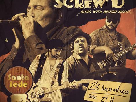 Pete Hassle & Screw'd no Santa Sede Rock Bar
