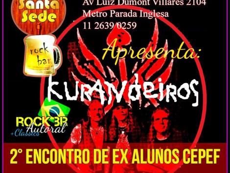 Santa Sede recebe show da banda Os Kurandeiros