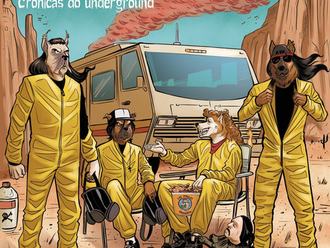 Mattilha anuncia novo álbum 'Crônicas do Underground'