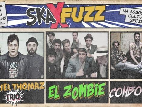 Associação Cultural Cecília recebe show das bandas El Zombie, Gabriel Thomaz Trio e Combover