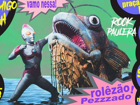 Festa de Aquário com Cosmo Drah & Monstro Amigo