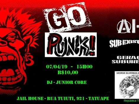 Punk Rock no Jailhouse Tatuapé