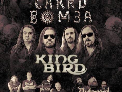 Santo Rock Bar recebe show do Carro Bomba e bandas convidadas