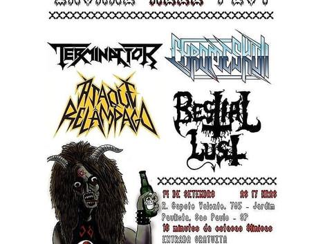 'Insane Hell Fest' no Estúdio 785