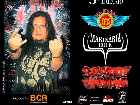 Backstage Studio Hall receberá a terceira edição do 'Somos Todos Bolivia Rock'