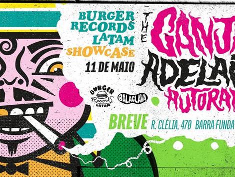 Showcase em São Paulo com as bandas Autoramas, The Ganjas e Adelaida