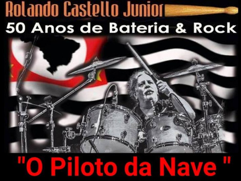 Vitrola Verde disponibiliza documentário sobre os 50 anos de carreira de Rolando Castello Junior