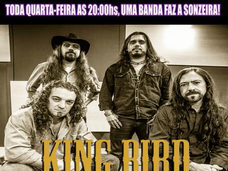 Quarta Feira dia 29/06 as 20 Hs, Live on The Rocks com KING BIRD !!!