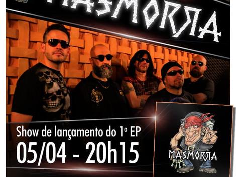Show de lançamento do EP da banda Masmorra no Espaço Som