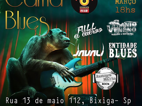 Evento Carna Blues reúne bandas no carnaval em São Paulo.