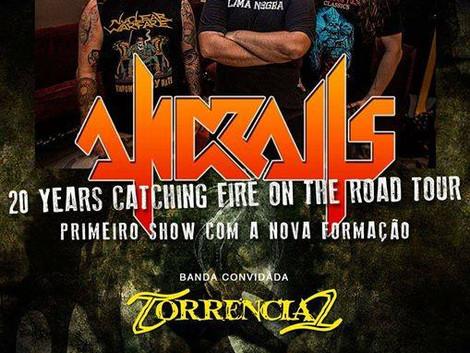 Pocket Show com a banda Andralls no DaTribo